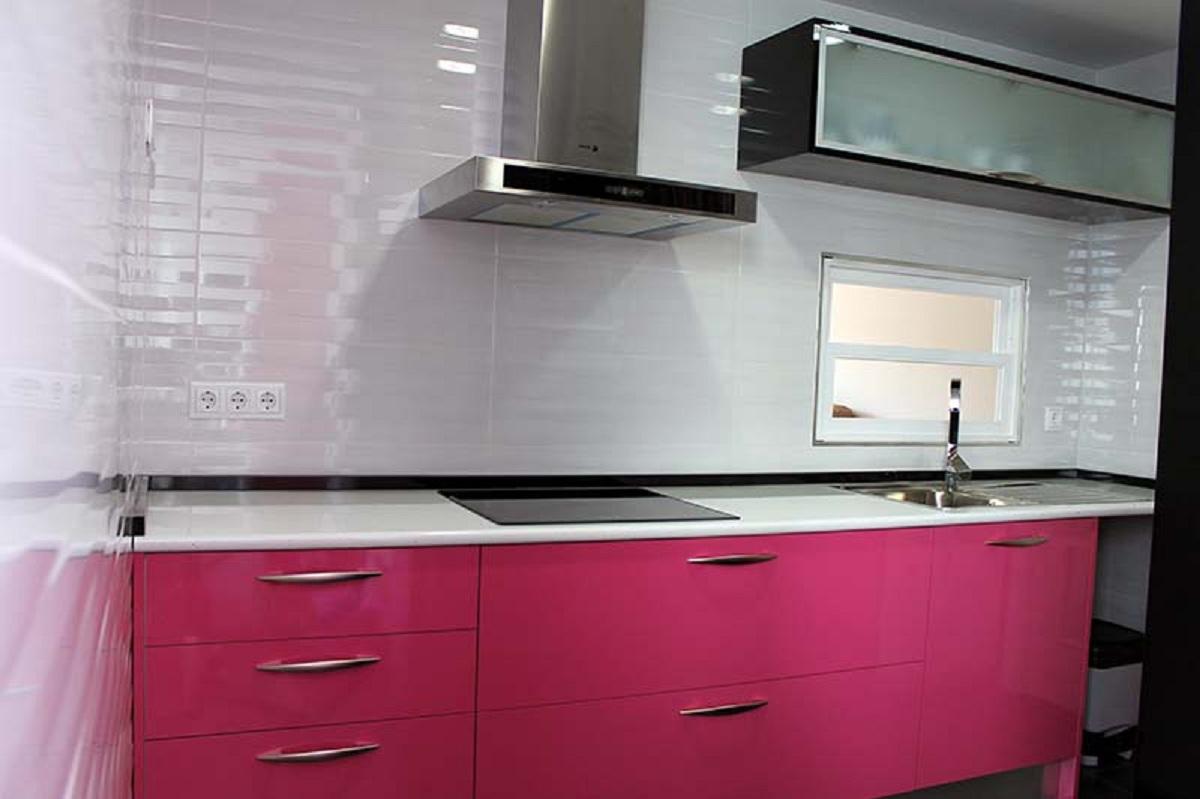Cocinas rosas cocinas rosas rum magazine via sf girl by bay cocinas rosas la cocina de - Cocina negra y rosa ...